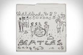 john lennon sgt pepper u0027s cover sketch uncrate