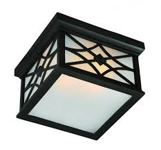 Outdoor Flush Mount Ceiling Light Two Light Black White Glass Outdoor Flush Mount 6qhq Amc