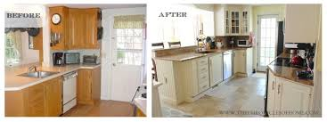 Painted White Kitchen Cabinets Before And After How To Paint Your Own Kitchen Cabinets With The Finish Max Sprayer