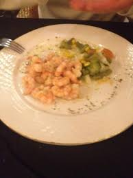 cuisine valentin shrimp at the restaurant picture of valentin perla blanca