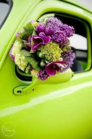 Lime Green Flowers - 177 best wedding lime green u0026 purple images on pinterest