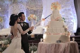 wedding cake tangerang wedding cake by ohana enterprise bridestory