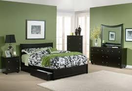 dark green bedroom black blanket ornamental plants brown wooden