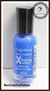 sally hansen hard as nails xtreme wear nail color u0027pacific blue