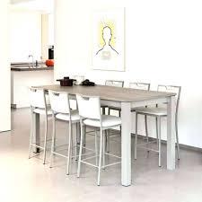 extensible de cuisine table de bar extensible simple superior meuble table a manger