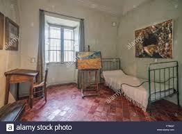 la chambre de vincent gogh reconstruction de la chambre de vincent gogh dans l asile de st