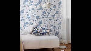 blue and white bedroom youtube