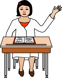 Picture Of Student Sitting At Desk by Student Reading At Desk Clipart 42