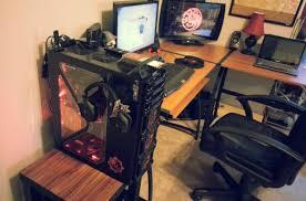 computer gaming desk desk gaming computer desk setup self esteem cool computer