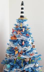 charming decoration beach themed christmas tree 252 best theme