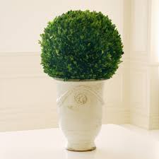 faux boxwood topiary homesfeed