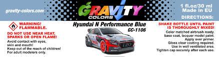 gravity colors plastic scale model car paints