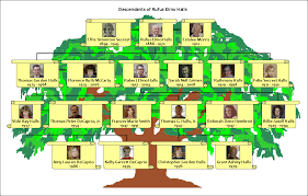 how to a family tree your own family information