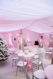 Pink Winter Wonderland Baby Shower Theme