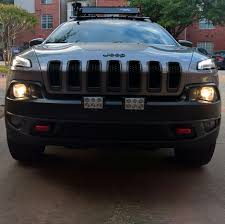 jeep cherokee lights led lights basket install new member here 2014 jeep
