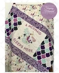 Purple And Aqua Crib Bedding Amazing Savings On Mermaid Baby Quilt Purple Aqua Baby