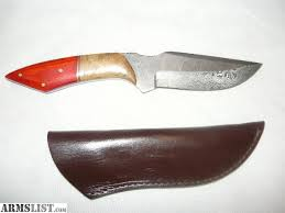 armslist for sale trade folded steel hunting knife