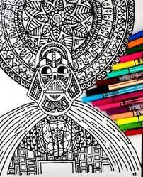 lion coloring details complex drawing color