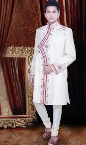 ethnic wear for men india buy online mens indian sherwani in off