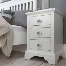 bedroom furniture bedside cabinets georgian painted white bedroom furniture bedside table with 3