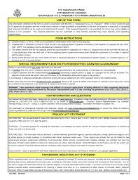 passport parental consent u2013 form ds 3053 eforms u2013 free fillable