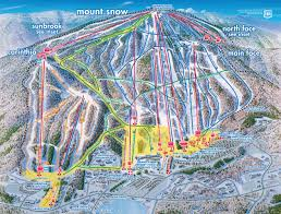 Bluebird Map Mount Snow Skimap Org