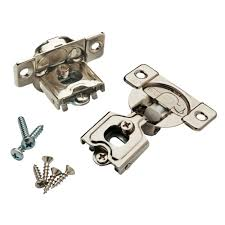 liberty 35 mm 105 degree 1 2 in overlay soft close hinge 1 pair overlay soft close hinge