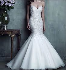 bling wedding dresses how to choose the best wedding dress silhouette for you mermaid