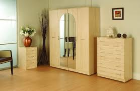 home designer pro portable modern wood portable closet with mirror set for neutral beige