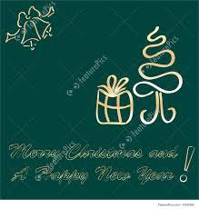 holidays greeting card template stock illustration i1950399 at