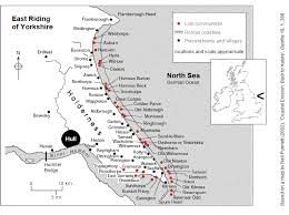 map uk villages east coastal erosion erosion map