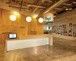 Creative Office Space Ideas by Home Interior Creative Receptionist Space For Bgt Partners
