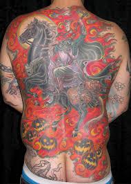 awsome and spooky tattoos for