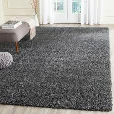 Grey Shaggy Rugs The Casual West Coast Aesthetic Is Celebrated In This Rug From