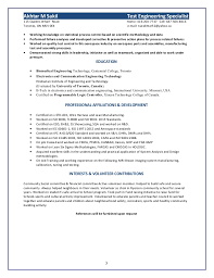 Quality Assurance Specialist Resume Sept 25 2015 Sr Test Engineering Specialist Resume