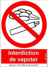 vapoter dans les bureaux panneau interdiction de vapoter amazon fr fournitures de bureau