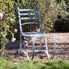 Metal Garden Chair Buy Verdigris Garden Bistro Chair Burford Garden Company