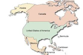 the united states of america and neighbouring countries map information and thrill 2012