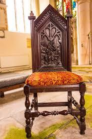 chaise d église chaise découpée d église image stock image du religieux 47485717