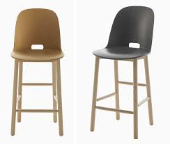 Emeco Bar Stool Morrison Conceives Alfi Seating Collection For Emeco