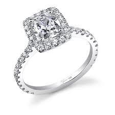 cut wedding rings wedding rings wedding rings cushion cut 2 carat ring