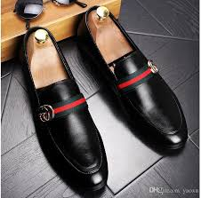most comfortable dress shoes for wedding 2017 fashion s casual loafers genuine leather slip on
