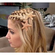 starfish hair clip best 25 starfish hair ideas on ribbon sculpture