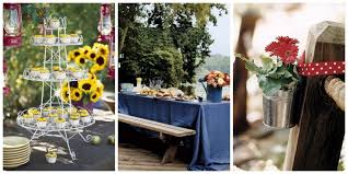 Centerpieces For Family Reunions Table by Outdoor Party Decoration Ideas Summer Party Decorating