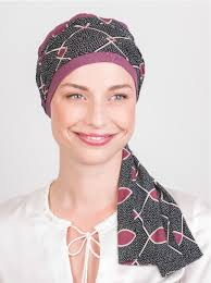 chemo hats with hair attached trendy chemo scarf that requires no draping or wrapping 100