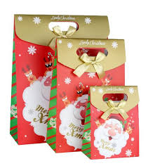 christmas wrapping bags quality christmas day gift packing paper bag wrapping bags