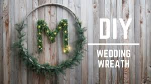 wedding wreath diy wedding decor gorgeous wedding wreath