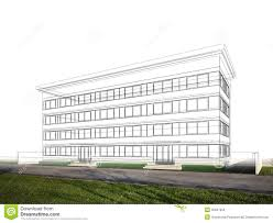 sketch design of building royalty free stock images image 36947259