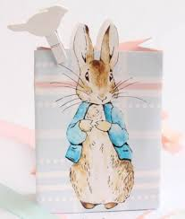 rabbit party rabbit pastel baby shower party favour loot bag bunny baby