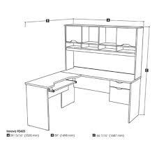 bestar innova u shaped workstation desk bestar innova l shape computer desk walmart com